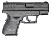Springfield Armory XD Sub-Compact Defender 9mm 3