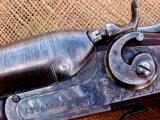A.J. Aubrey (Meriden Firearms) Engraved Hammer gun - 2 of 7