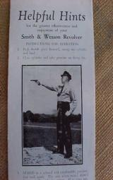 Smith & Wesson Helpful Hints Brochure & Box Labels - 2 of 7