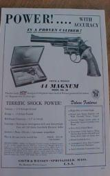 Smith & Wesson Group of Brochures - 1 of 10