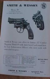 Smith & Wesson Group of Brochures - 7 of 10