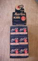 Marlin Display Pack Razor Blades - 3 of 4