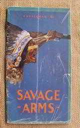 Savage early Pre War 2 Gun Catalog - 1 of 12