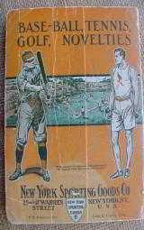 New York Sporting Goods 1910 Catalog - 12 of 12