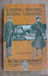 New York Sporting Goods 1910 Catalog - 1 of 12