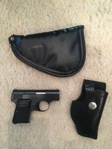 Belgium Baby Browning With Browning ZIP Case And Belt Holster