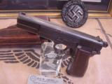 FN M 1935 HIGH POWER / P.640 b GERMAN MILITARY AXIS PISTOLWW II- 3 of 7