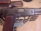 FN M 1935 HIGH POWER / P.640 b GERMAN MILITARY AXIS PISTOLWW II- 4 of 7
