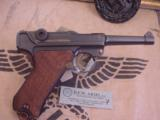 LUGER DWM 1916MILITARY9 MM - 3 of 9
