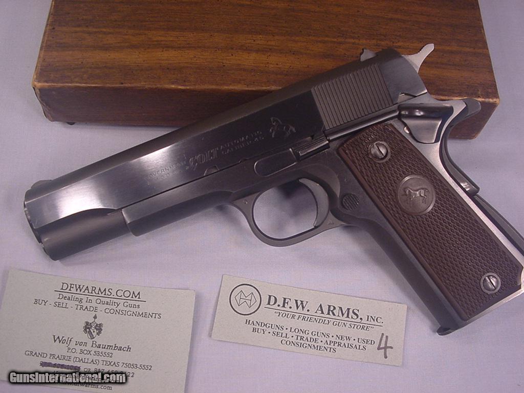ARMSLIST - For Sale/Trade: Vintage Colt 1911 combat commander
