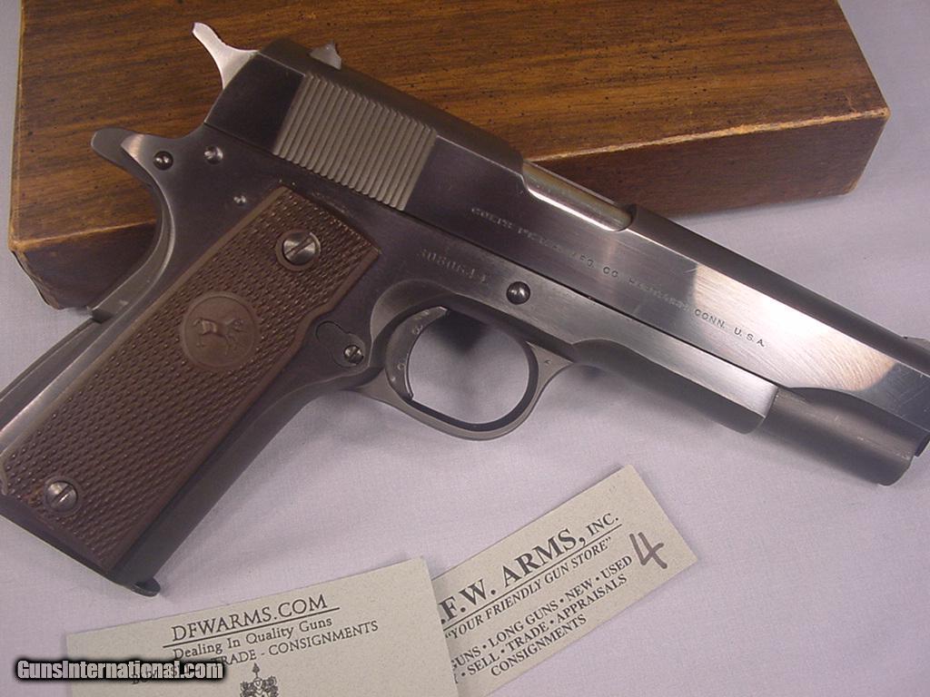 ARMSLIST - For Sale: Colt 1911 US Property, Vintage WWII