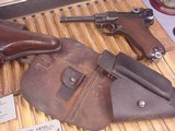MAUSER LUGER BYF 41 9MM GERMAN MILITARY WWII - 12 of 13