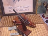 LUGER MAUSER CODE 41-42 KUE 9MM WITH HOLSTER