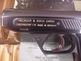 HECKLER & KOCH MODEL 4 GUNCAL .380 ( 9MM KURZ) WITH 7.65 MM CONVERSION KIT - 2 of 14