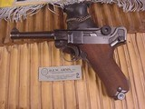 MAUSER LUGER WWII BYF 42 9MM GERMAN MILITARY - 10 of 14