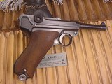 MAUSER LUGER WWII BYF 42 9MM GERMAN MILITARY - 6 of 14