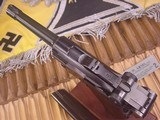 MAUSER LUGER WWII BYF 42 9MM GERMAN MILITARY - 3 of 14
