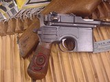 MAUSER C-96 BROOMHANDLERED 9,9MM WITH STOCK - 6 of 20