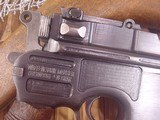 MAUSER C-96 BROOMHANDLERED 9,9MM WITH STOCK - 8 of 20