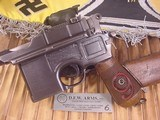 MAUSER C-96 BROOMHANDLERED 9,9MM WITH STOCK - 3 of 20