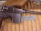 MAUSER C-96 BROOMHANDLERED 9,9MM WITH STOCK - 7 of 20