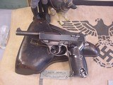 P-38 WALTHERMODEL AC 43 , GERMANNAZI MILITARY 9MM WITH HOLSTER - 2 of 18