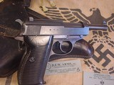 P-38 WALTHERMODEL AC 43 , GERMANNAZI MILITARY 9MM WITH HOLSTER - 5 of 18