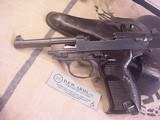 P-38 WALTHERMODEL AC 43 , GERMANNAZI MILITARY 9MM WITH HOLSTER - 10 of 18