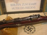 MAUSER 1933 K98K NAZI8 MM MILITARY PRE WWII PRODUCTION - 3 of 20