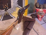 FN HI POWER MODEL P-35 PRE WWII 9MMWITH STOCK - 18 of 20