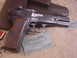 FN HI POWER MODEL P-35 PRE WWII 9MMWITH STOCK - 4 of 20