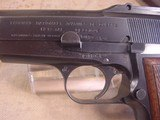 FN HI POWER MODEL P-35 PRE WWII 9MMWITH STOCK - 7 of 20