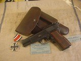 FN HI POWER MODEL P-35 PRE WWII 9MMWITH STOCK - 2 of 20