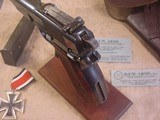 FN HI POWER MODEL P-35 PRE WWII 9MMWITH STOCK - 6 of 20