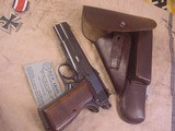 FN HI POWER MODEL P-35 PRE WWII 9MMWITH STOCK - 14 of 20