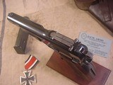 FN HI POWER MODEL P-35 PRE WWII 9MMWITH STOCK - 5 of 20