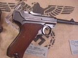 LUGERMAUSER BYF 419MM WITH ERMA .22 LR CONVERSION - 9 of 20