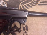 LUGERMAUSER BYF 419MM WITH ERMA .22 LR CONVERSION - 10 of 20