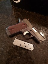 Kimber Micro 380 Rosewood **as new condition**