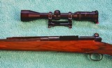 Griffin & Howe .338 Win Mag, Pre-64 M70, 1/4 rib rear sight, XXXX wood, Near Mint - 14 of 25