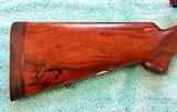 Griffin & Howe .338 Win Mag, Pre-64 M70, 1/4 rib rear sight, XXXX wood, Near Mint - 20 of 25