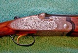 "Beretta SO5 EELL, 12 ga., 28"" bls, Hand Detachable Sidelocks, Briley Chokes, Master Engraver - 5 of 19"