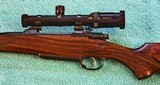 Johannsen 416 Rigby, Double Square Bridge Magnum, Integral Scope Rings - AS NEW - 3 of 25