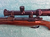 Johannsen 416 Rigby, Double Square Bridge Magnum, Integral Scope Rings - AS NEW - 20 of 25
