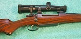 Johannsen 416 Rigby, Double Square Bridge Magnum, Integral Scope Rings - AS NEW - 6 of 25