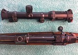 Johannsen 416 Rigby, Double Square Bridge Magnum, Integral Scope Rings - AS NEW - 22 of 25