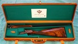 Arrieta Pheasant 803 Self-Opening 28 GA Sidelock Ejector Single Trigger, cased