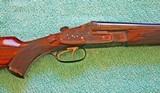 Johann Fanzoj Sidelock Ejector Double Rifle, 500-465 NE, Best Gun, Near Mint - 4 of 25