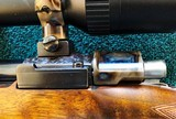 """Rigby -- London -- 270 Win. -- RARE Light Deluxe Magazine Rifle -- 24"""" Bl -- Mint - 21 of 25"""