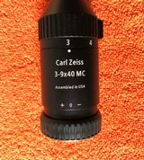 Zeiss Conquest 3-9x40MC, Brand New Assembled in USA, Lifetime Warranty - 2 of 8